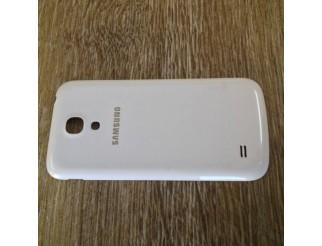 Gebrauchte Akkudeckel / Batterie Abdeckung in weiss für Samsung Galaxy S4 Mini i9190 / i9195