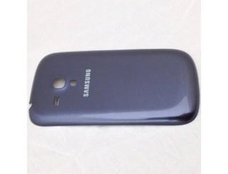 Gebrauchte Akkudeckel / Batterie Abdeckung in blau für Samsung Galaxy S3 Mini i8190 / i8195