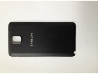 Gebrauchte Akkudeckel / Batterie Abdeckung in schwarz für Samsung Galaxy Note 3 N9000 / N9005