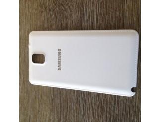 Gebrauchte Akkudeckel / Batterie Abdeckung in weiss für Samsung Galaxy Note 3 N9000 / N9005