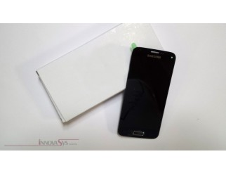 Display für Samsung Galaxy S5 Mini SM-G800F (GH97-16147A) Touchscreen, LCD + Rahmen in schwarz