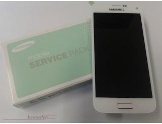 Display für Samsung Galaxy S5 Mini SM-G800F (GH97-16147B) Touchscreen, LCD + Rahmen in weiss