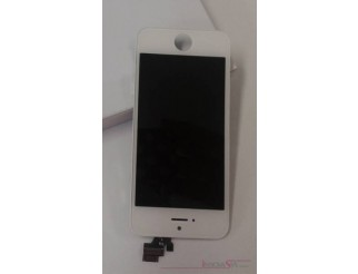 Standard Display Einheit weiss, komplett für iPhone 5 (weiss und gold)