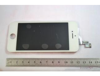Standard Display Einheit weiss, komplett für iPhone 5S