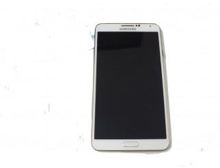 Display für Samsung Galaxy Note 3 (N9005) Touchscreen, LCD + Rahmen in weiss GH97-15209B