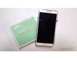 Display für Samsung Galaxy Note 3 (N9005) Touchscreen, LCD + Rahmen in weiss