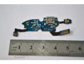 Micro USB Buchse + Mikrofon Flex + Gummi für Samsung GT-I9195 Galaxy S4 Mini