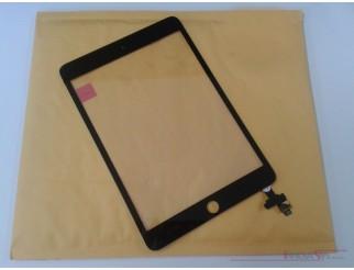 Premium Frontscheibe + Touchscreen komplett für iPad Mini 3, schwarz. OEM-Qualität mit IC Chip