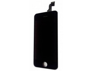 Standard Display komplett mit LCD, Digitizer/Touchscreen, Front Glass in schwarz für iPhone 5C