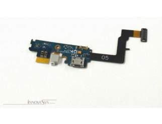 Micro USB Buchse + Mikrofon Flex + Gummi für Samsung Galaxy S2 Plus GT-I9105