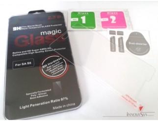 Panzer Glas / Display-Schutzglas 9H für Samsung Galaxy S6