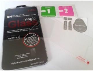 Panzer Schutzfolie / Display-Schutzglas 9H für Samsung Galaxy Note 4 HQ Premium Qualität