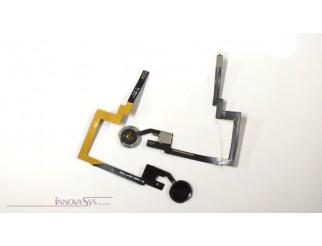 Home Button in schwarz mit langem Flexkabel für iPad Mini 3