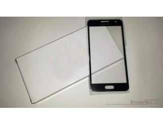 Frontscheibe für Samsung Galaxy A3 (A300F) in schwarz (midnight black)