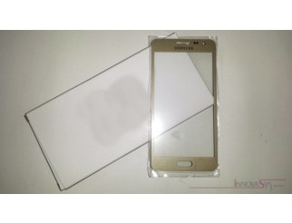 Frontscheibe für Samsung Galaxy A3 (A300F) in gold (Champagne gold)