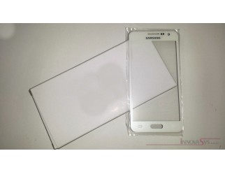 Frontscheibe für Samsung Galaxy A3 (A300F) in weiss (Pearl white)