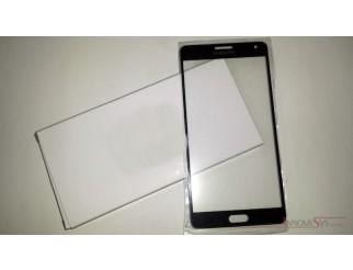 Frontscheibe für Samsung Galaxy A7 (A700F) in schwarz (midnight black)