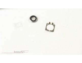 Kameralinse (hinten) mit Ring für iPhone 6 in weiss