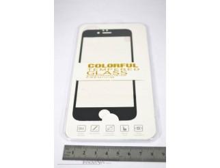 Premium Panzer Glas / Display-Schutzglas 9H für iPhone 6 6s schwarz
