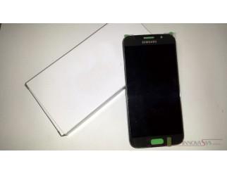 Display für Samsung Galaxy S6 SM-G920F (GH97-17260C) Touchscreen, LCD + Rahmen in gold