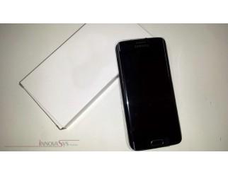 Display für Samsung Galaxy S6 Edge SM-G925F (GH97-17162A) Touchscreen, LCD + Rahmen in schwarz sapphire
