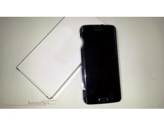 Display für Samsung Galaxy S6 Edge SM-G925F (GH97-17162E) Touchscreen, LCD + Rahmen in grün emerald