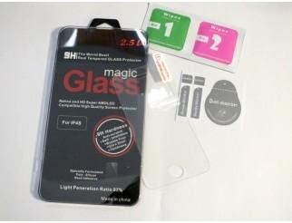 Panzer Schutzfolie / Display-Schutzglas 9H passend für  iPhone 4 / 4S HQ Premium