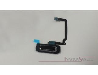 Home button in schwarz mit Flexkabel für Samsung Galaxy S5 Mini