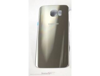 Samsung Galaxy S6 G920F Akkudeckel Glas gold Backcover Rückseite