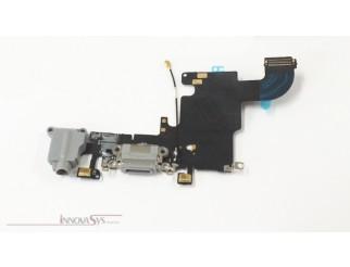 Docking port mit Kopfhörerbuchse und Flexkabel für iPhone 6S schwarz
