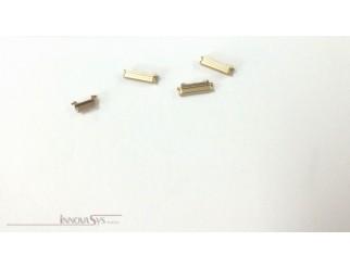 Button Set (Lautstärke, Stummschaltung, Powerknopf) silber für champagne-goldenes iPhone 6S