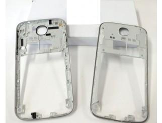 Mittelrahmen für Samsung Galaxy S4  i9505 in silber