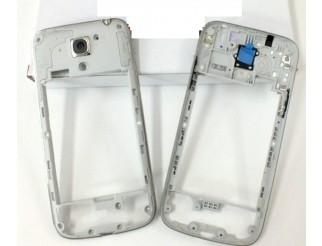 Mittelrahmen für Samsung Galaxy S4 Mini i9195 in silber