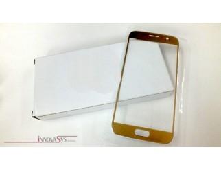 Frontscheibe für Samsung Galaxy S7 G930f gold Ersatzglas LCD Touchscreen Display