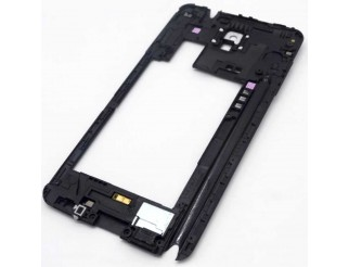Mittelrahmen für Samsung Galaxy Note 3 N9005 mit Kameralinse in weiss
