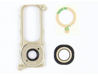 Kamera Linse mit Rahmen (hinten) für LG G4 H815 gold