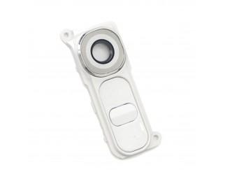 Kamera Linse mit Rahmen (hinten) für LG G4 H815 weiss