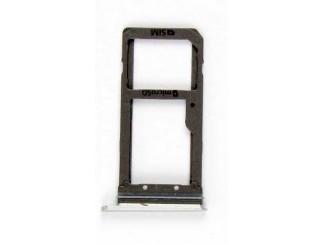 Sim + SD Kartenhalter für Samsung Galaxy S7 weiss card holder