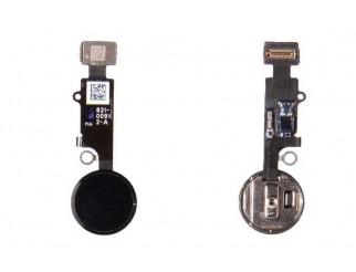 Home Button mit Flex und Fingersensor für iPhone 7/7+ schwarz