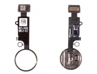 Home Button mit Flex und Fingersensor für iPhone 7 / 7+ gold Menü Taste