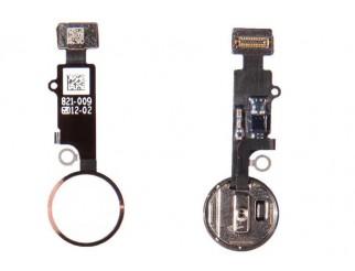 Home Button mit Flex und Fingersensor für iPhone 7 / 7+ rose-gold