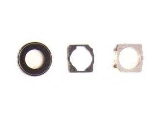 Kamera Abdeckung Scheibe Linse (hinten) für iPhone 7 schwarz