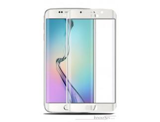 Premium Panzer Glas / Display-Schutzglas 9H für Samsung Galaxy S7 Edge Weiss