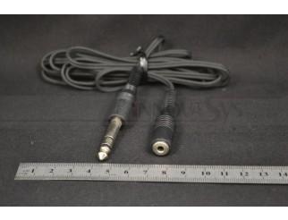 6,3mm Stereo- / Audio- Kabel Stecker Adapter auf 3,5 Klinke Buchse