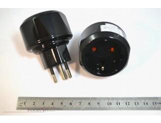Brennenstuhl Umstecker Adapter von DE auf CH