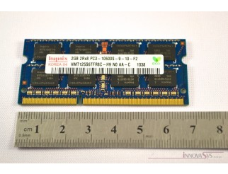 2 x 2GB PC3-10600S DDR3-1333 SO-DIMM RAM Kit