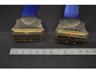 Premium Gold Scart-Kabel 0,5m