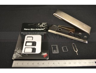 Micro Sim + Nano Sim Card Adapter Cutter