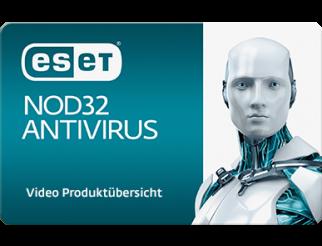 NOD32 AntiVirus 3 er Lizenz 1 Jahr Verlängerung
