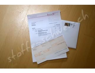 Rechnungsstellung per A-Post